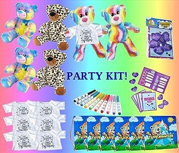 Teddy Mountain NY Kit Fiesta de cumpleaños del Oso de ...