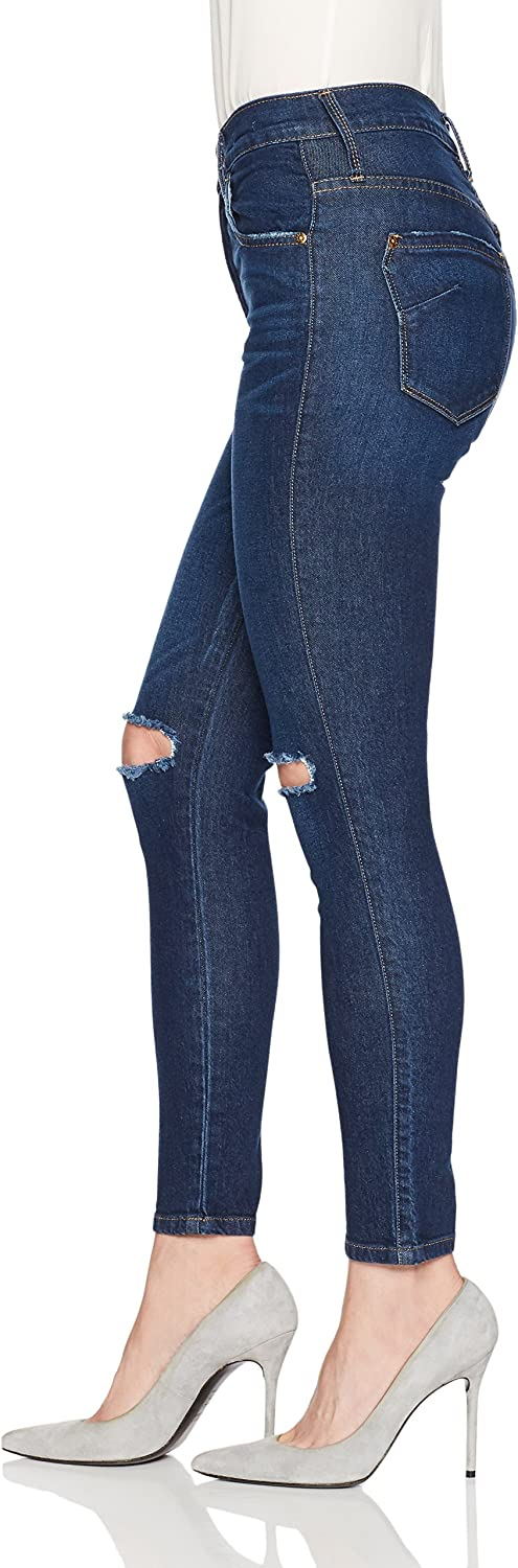 James Jeans Womens High Rise Skinny Ankle Jean in Maverick