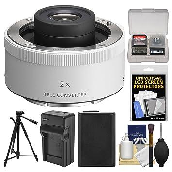 Amazon.com: 2.0 x E-Mount Teleconverter con cargador de ...