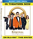 Kingsman: The Golden Circle (BD + DVD + Digital) [Blu-ray]