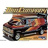 MPC 1/25 Scale 1982 Dodge Van, BAD COMPANY, MPC824, Model Van Kit