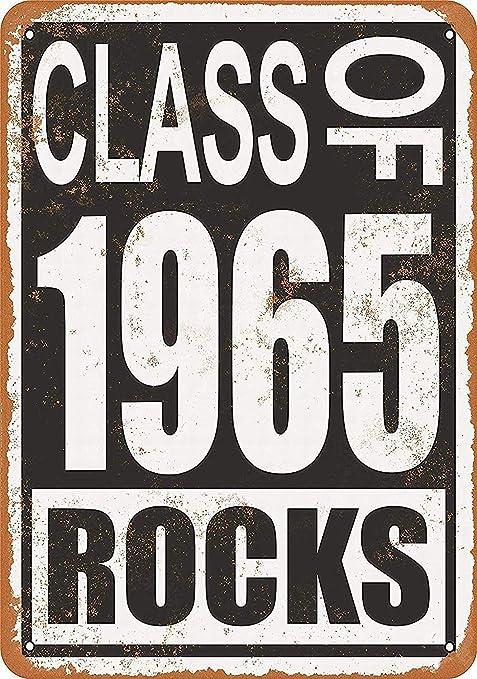 Class of 1965 Rocks Póster de Pared Aluminio Metal Creativo ...