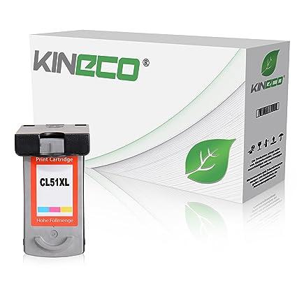 kineco cartucho de tinta compatible con Canon CL-51 PIXMA MP150 ...