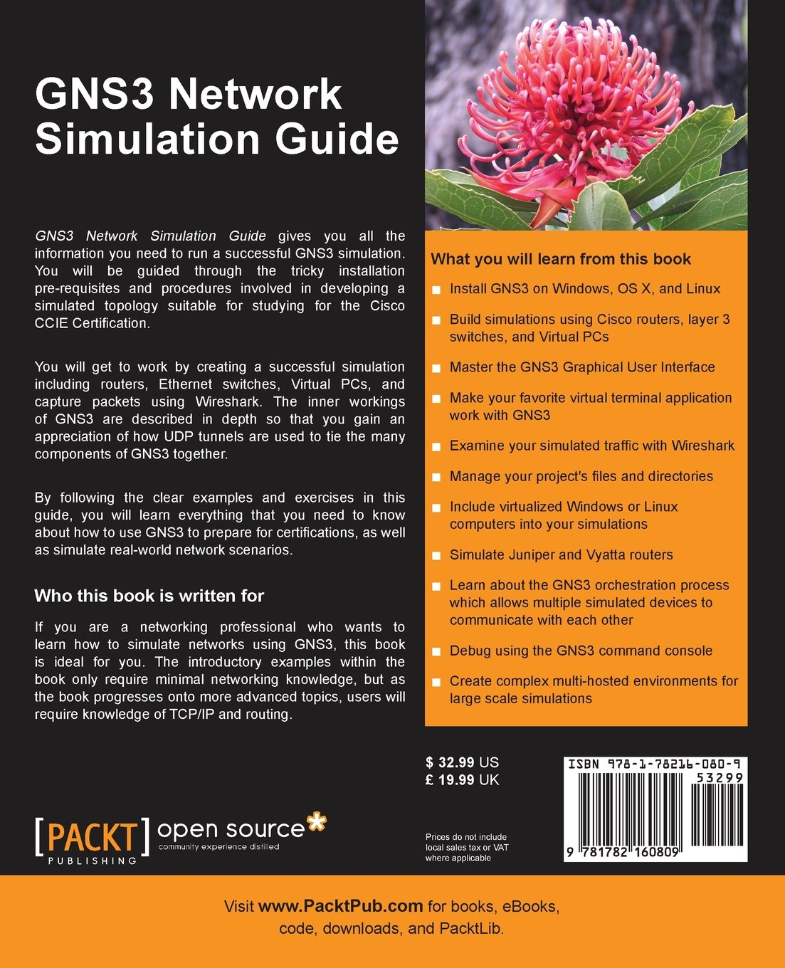 GNS3 Network Simulation Guide: RedNectar Chris Welsh: 9781782160809