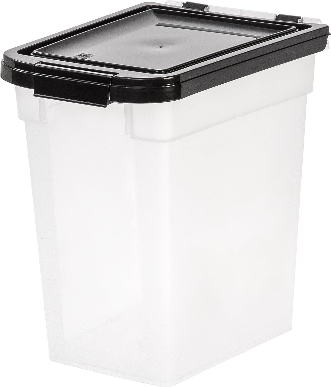 IRIS USA Nesting Airtight Pet Food Container, Medium MP-230 : Pet Food Storage Products : Pet Supplies