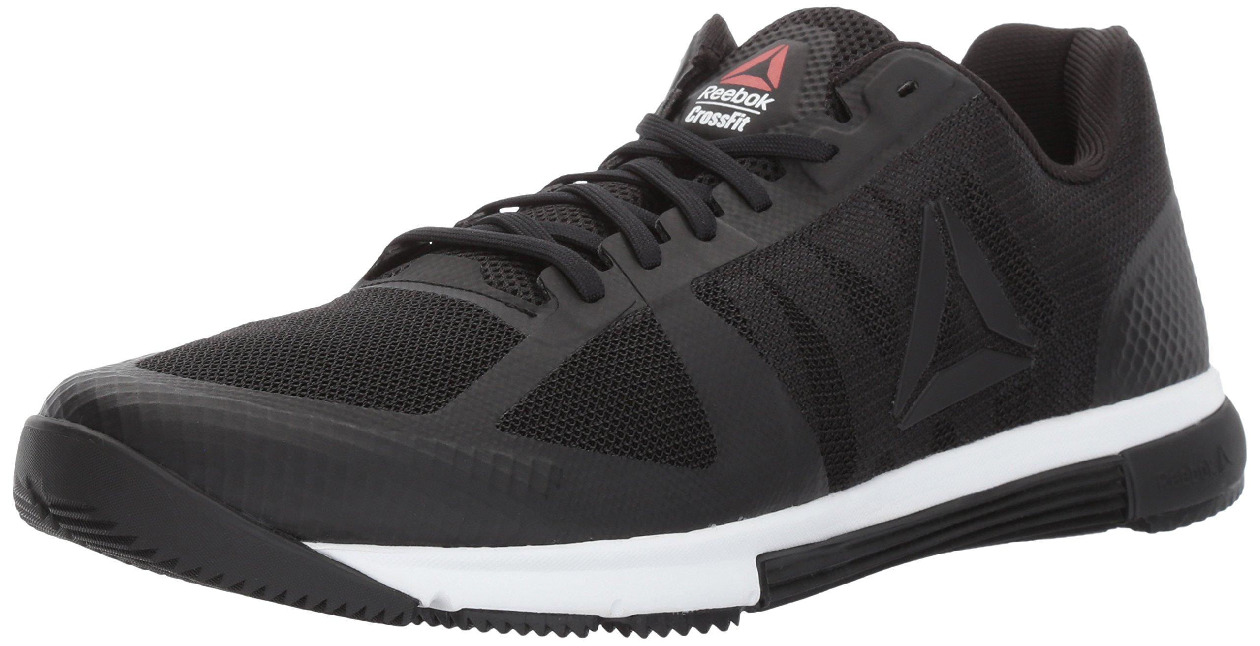 Reebok Men's Crossfit Speed TR 2.0 Cross-Trainer Shoe, Black/White/Primal Red, 11.5 M US by Reebok