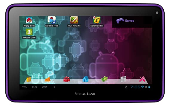 Visual Land Prestige 7-Inch Tablet with 8GB Memory: Amazon