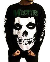 jigg and roll mens misfits t shirt long sleeve - Misfits Christmas Sweater