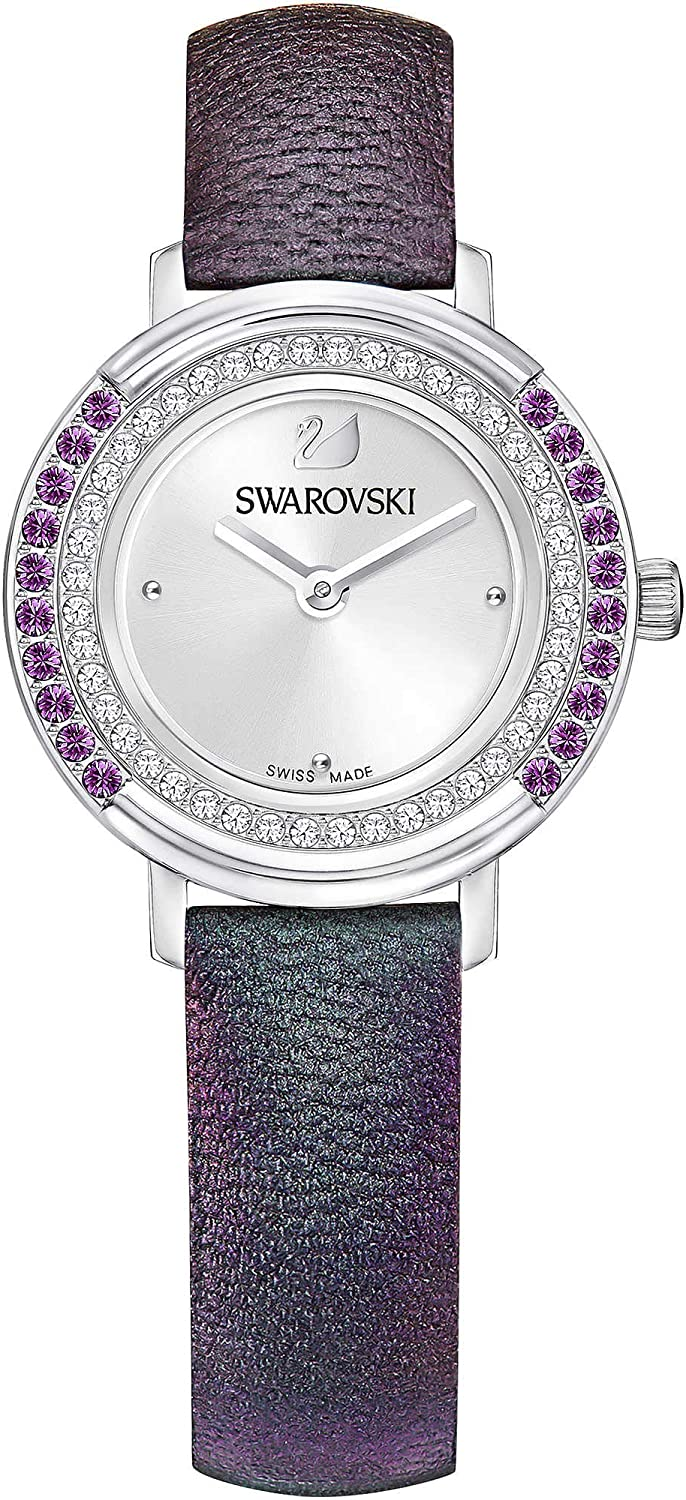 Swarovski Playful Mini Reloj, Color Violeta