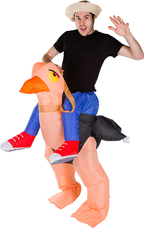 Bodysocks® Disfraz Hinchable de Avestruz Adulto