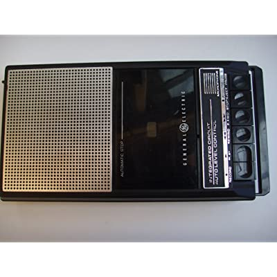 GE General Electric Cassette Tape Recorder 3-5015D, Uses Batteries Only: Everything Else