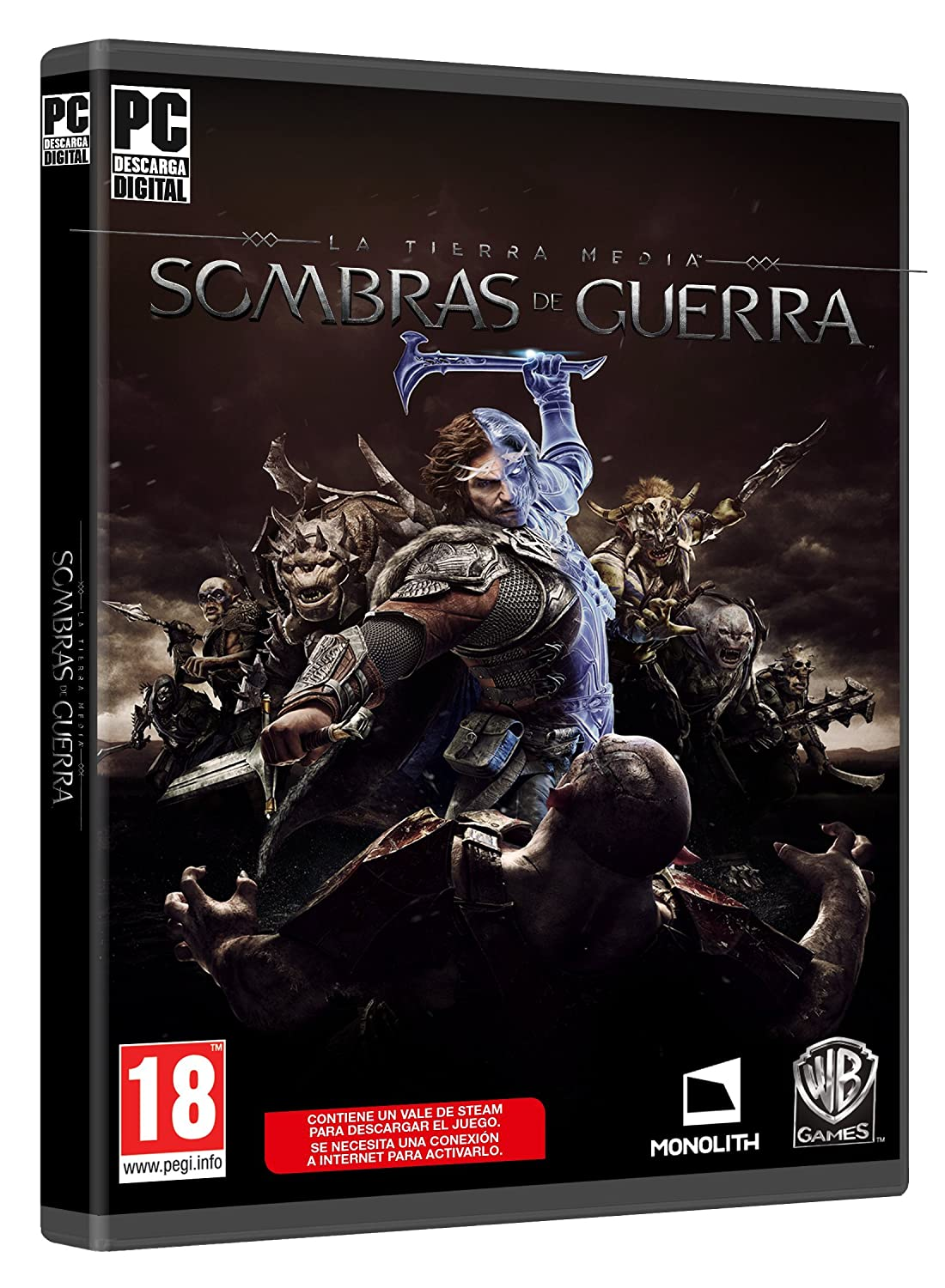 La Tierra-Media: Sombras De Guerra: PC: Amazon.es: Videojuegos