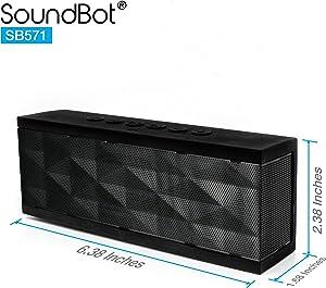 SoundBot SB571 Bluetooth Wireless Speaker
