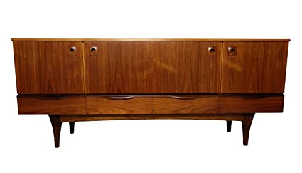 Danish Style Credenza : Amazon danish style mid century credenza media console or