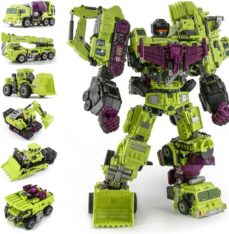 ZJXYYYzj Transformers /Übergro/ße Devastator Transformation Spielzeug K/ühle KO Action-Figur Roboter-Auto LKW Haken Modell Boy Toys