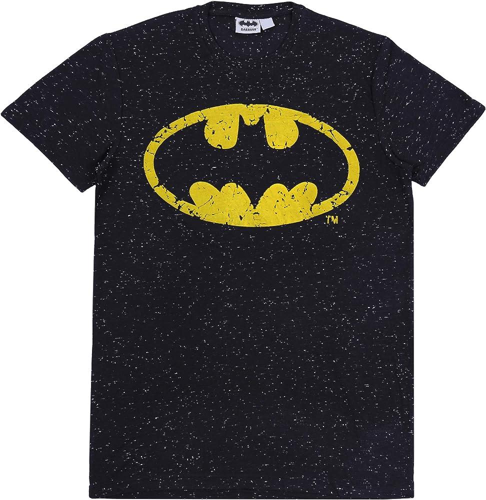 Batman -:- DC COMICS Camiseta Negra XS: Amazon.es: Ropa y accesorios
