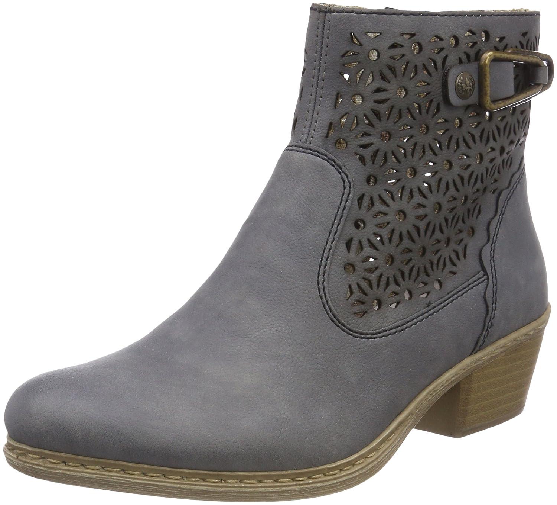 Rieker 75586, Botas Desert para Mujer40 EU|Azul (Jeans)
