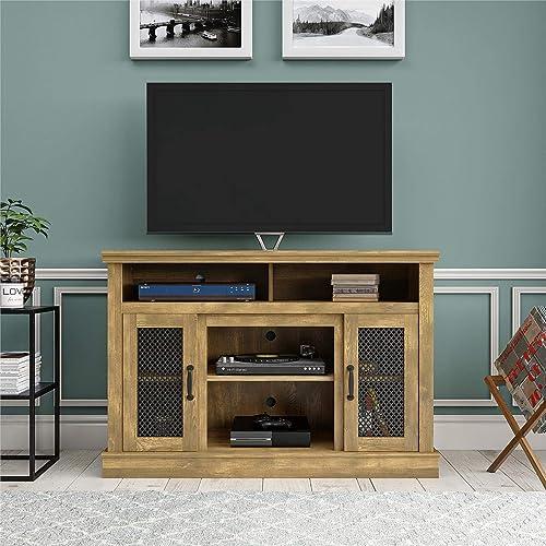 Ameriwood Home Cresthaven 54 , Natural TV Stand,