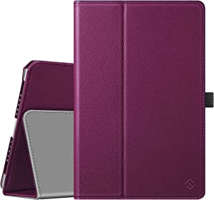 Fintie Case for iPad 9.7 2018/2017, iPad Air 2, iPad Air - [Corner Protection] Premium Vegan Leather Folio Stand Cover, Auto Wake/Sleep for iPad 6th / 5th Gen, iPad Air 1/2, Purple