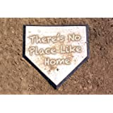 There's No Place Like Home Dirty Home Plate Baseball Doormat