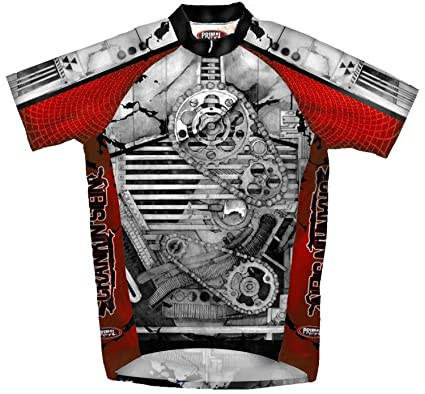 Amazon.com   Primal Wear CrankenStein Cycling Jersey Mens   Sports ... 456d9ade4