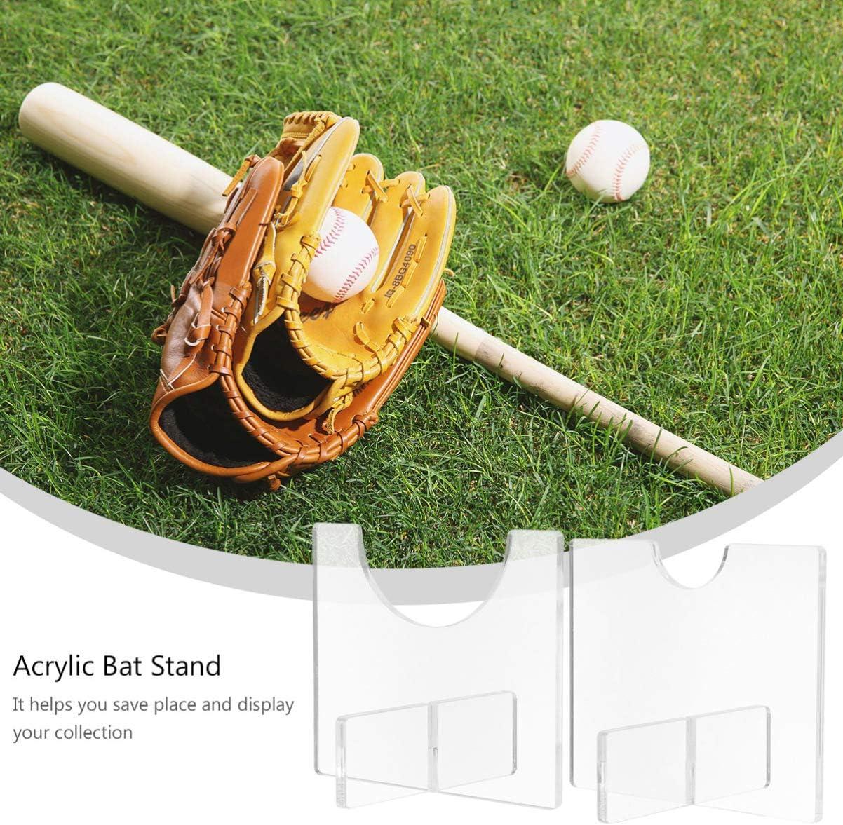 Adatto a Tutte Le Mazze da Baseball XinSa 2 Pezzi Porta Mazza da Baseball Mazze da Softball Supporto per Mazza da Baseball ECC Mazze da Hockey