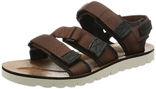 197cae93f362 Timberland Pierce Point Sandals UK 8.5 Brown  Amazon.co.uk  Shoes   Bags