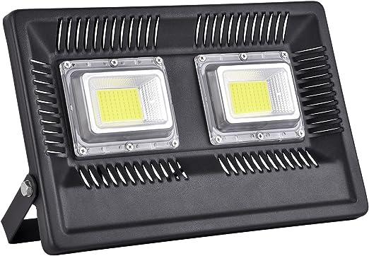 Foco Proyector LED 50W 100W luz de inundación para exteriores ...