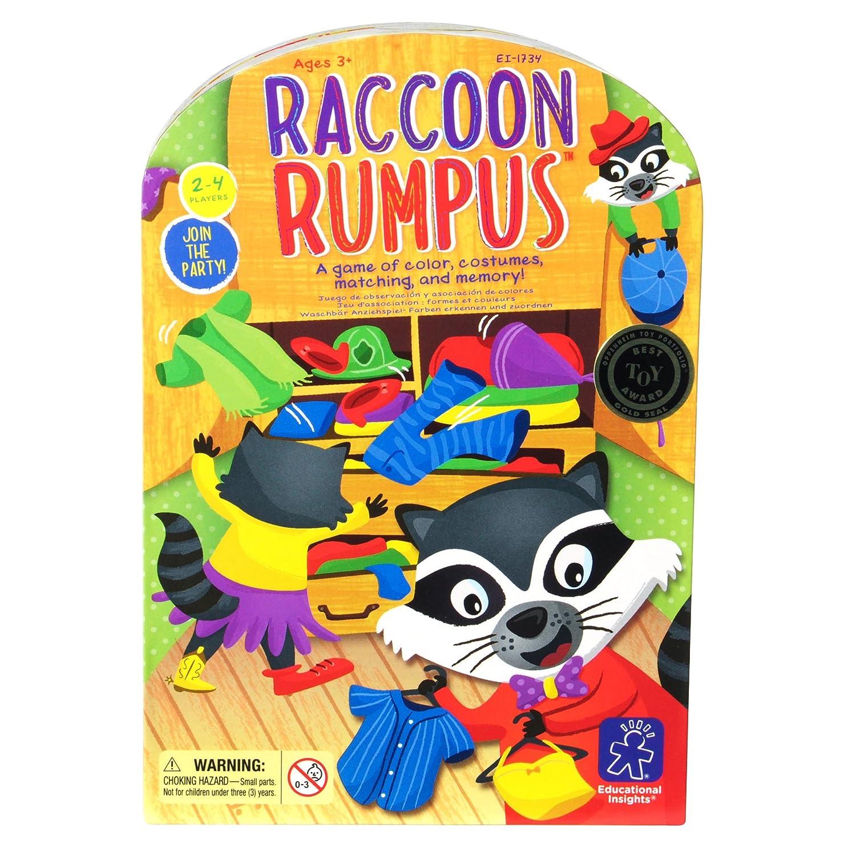 75e73d2049b2 Educational Insights Raccoon Rumpus Game - 1734