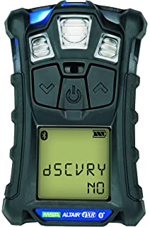 Msa 10178557 Altair 4XR Multigas Detector: LEL, O2, H2S & CO, Charcoal