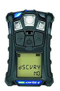 Msa Safety Sales, Llc 10178557 Altair 4XR Multigas Detector: LEL, O2, H2S & CO, Charcoal, North American Charger