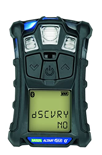 Msa Safety Sales, Llc 10178557 Altair 4XR Multigas Detector LEL, O2, H2S CO, Charcoal, North American Charger