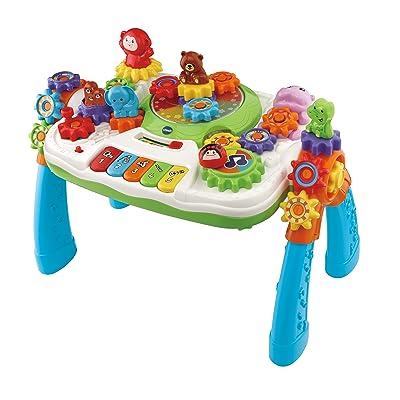 VTech Zooz Centre Multi-activités à engrenages magiques Niño/niña - Juegos educativos (AA, 585 mm, 133 mm, 406 mm, 2,1 kg): Juguetes y juegos