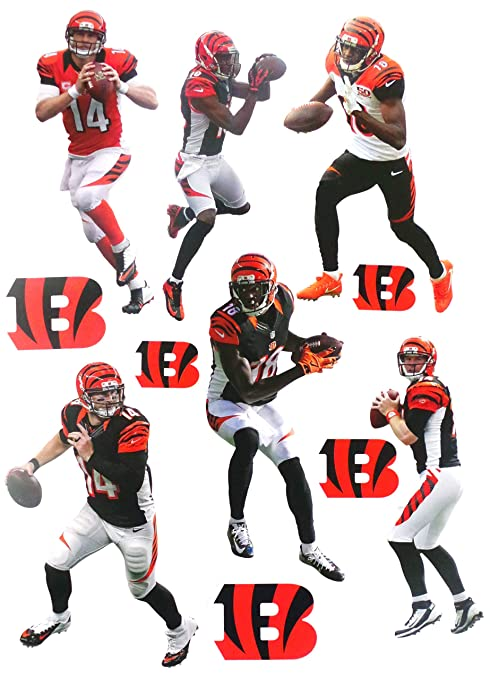 18112241 Amazon.com: FATHEAD Cincinnati Bengals Mini Graphics Team Set 6 ...