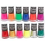 Makeup Mania Daily Wear Nail Polish Combo (Multicolor No.74, Pack of 12)