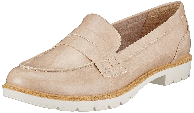 Tamaris 24660, Chaussures Bateau Femme 24660, Chaussures Beige (Cream Bateau Patent) f016cbb - shopssong.space