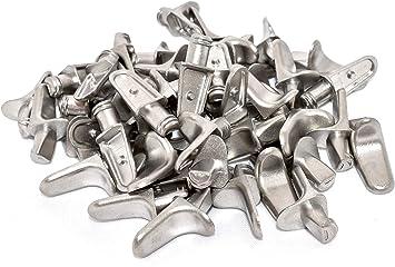 5 mm Shelf Support Peg Pin Bracket Stainless Steel 50 pack ecoMIM SS5mm50x