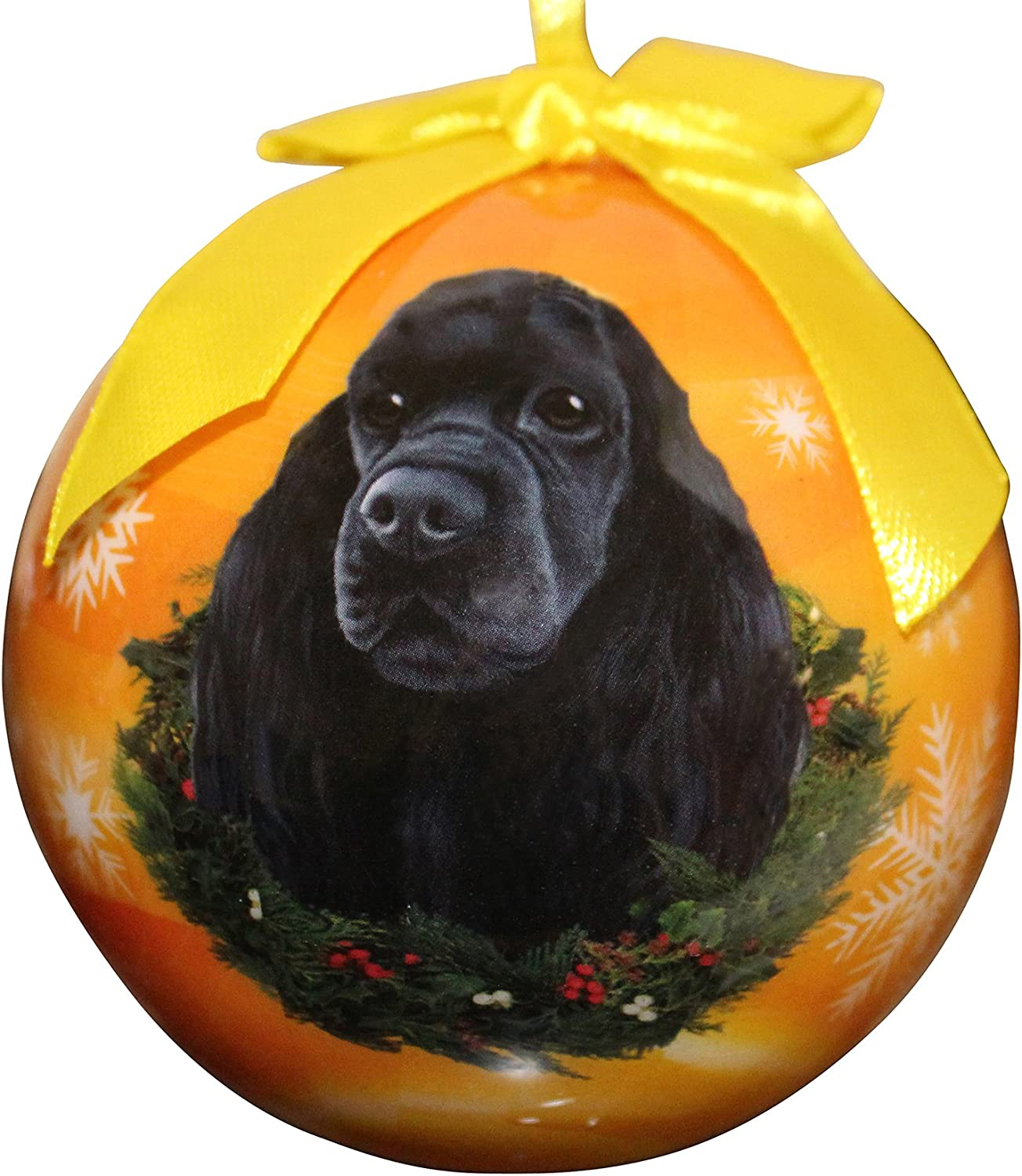 Cocker Spaniel Christmas Ornament Shatter Proof Ball Easy To Personalize A Perfect Gift For Cocker Spaniel Lovers