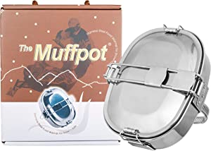 The Original Muffpot ATV,UTV and Snowmobile Exhaust Pipe Food Warmer For Outdoor Cookware
