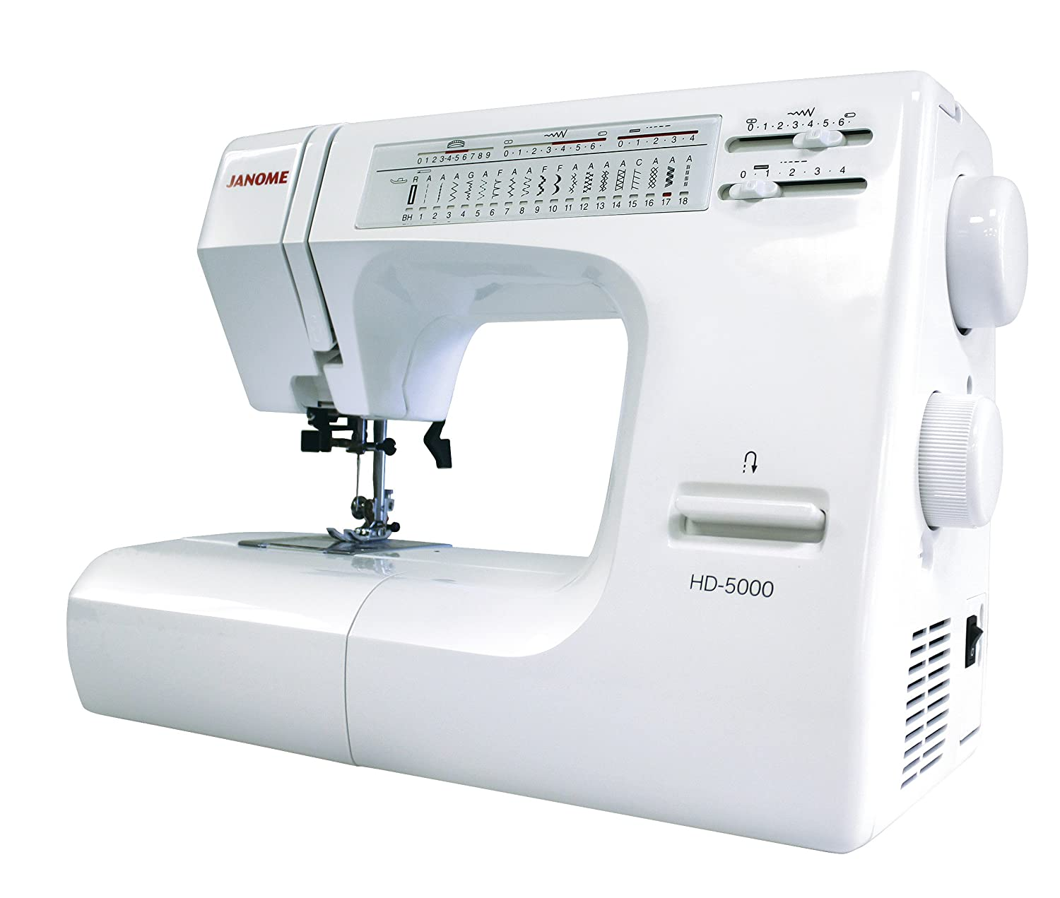 Janome memory craft 6500p - Janome Hd5000 Heavy Duty All Mechanical Sewing Machine With 18 Built In