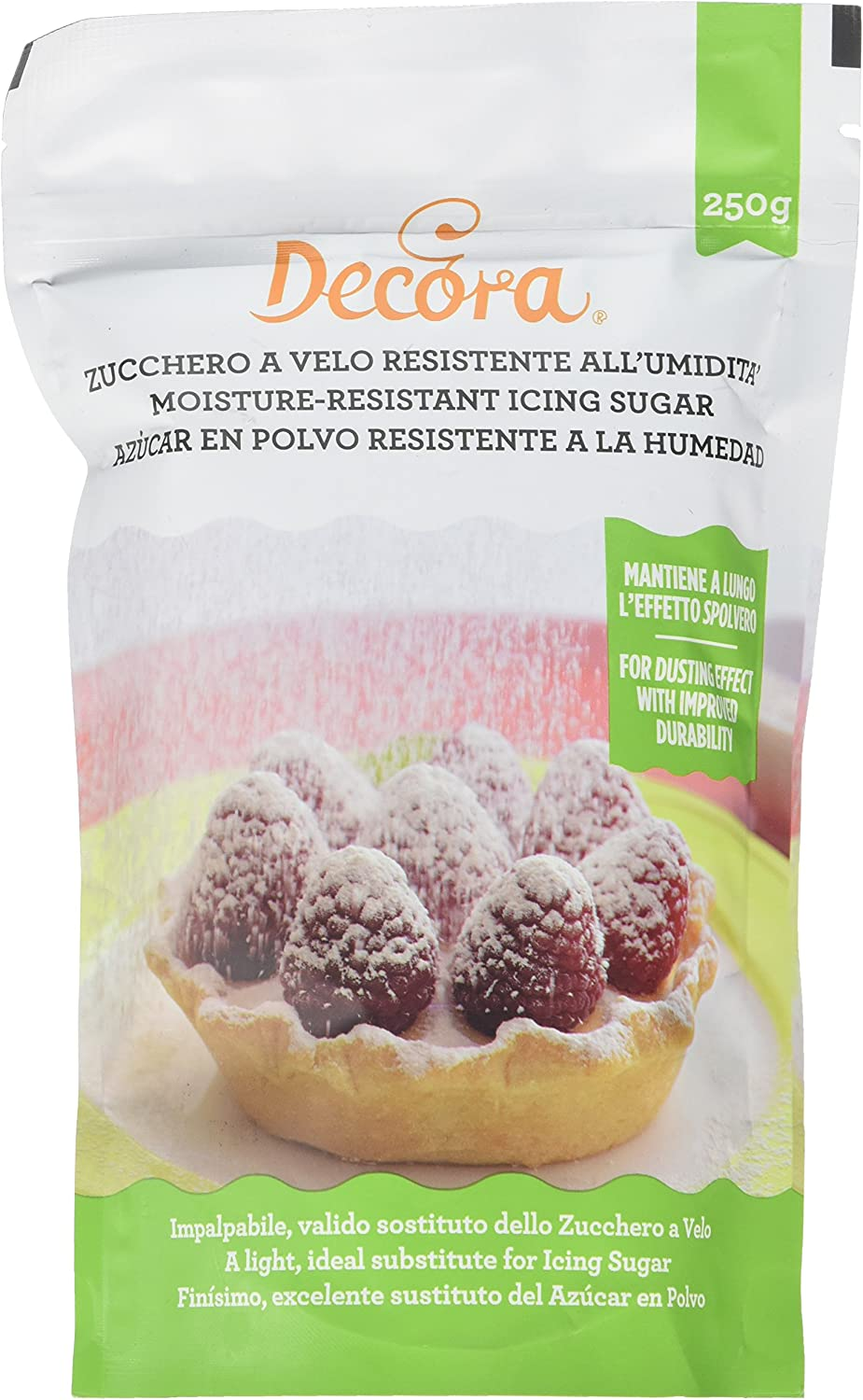 Decora 0300213 Zucchero Decorativo Resistente All Umidita 250 G Amazon It Alimentari E Cura Della Casa