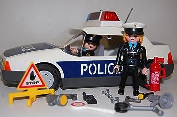 Playmobil - 3904 - Voiture de Police et Policier: Amazon.es ...