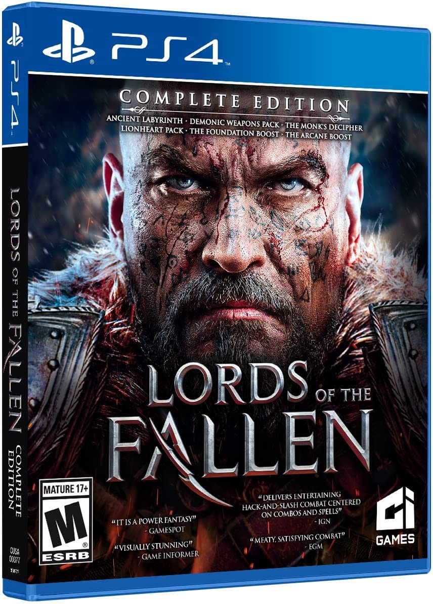 Amazon. Com: lords of the fallen complete edition (xbox one): video.