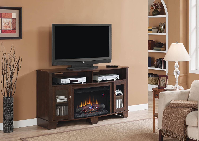 amazon com classicflame 26mm4995 pe91 la salle tv stand for tvs