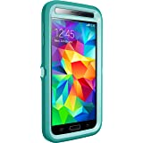 Otterbox Defender Series for Samsung Galaxy S5 - Frustration-Free Packaging - Aqua Sky (Aqua Blue/Light Teal)