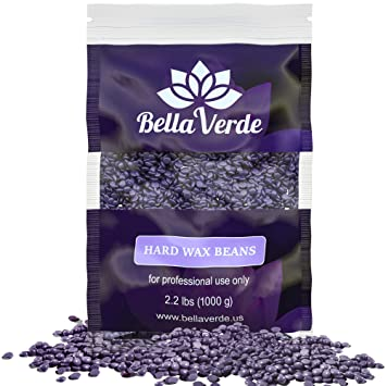Amazon Com Wax Beans 2lb Hard Wax Beads For Hair Removal