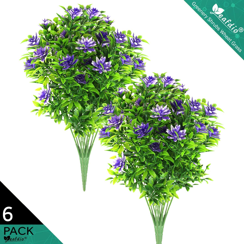 Amazon Com Leafdio Farmhouse Artificial Flower Decor Small Shrubs