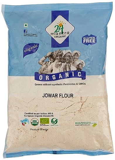 24 Mantra Organic Jowar (Sorghum) Flour, 500g