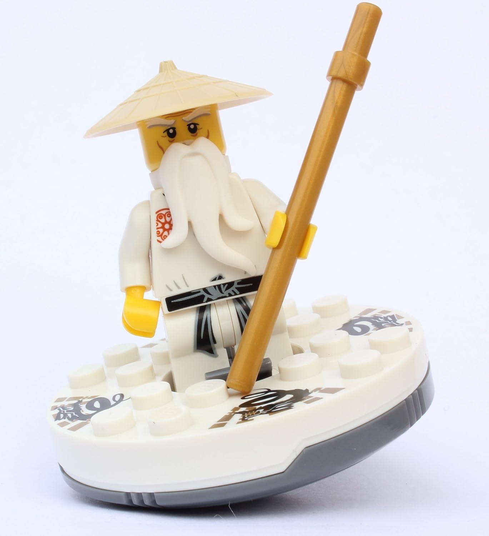 Lego® Ninjago - Sensei Wu - White outfit with Spinner