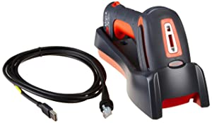 Honeywell Scanning 1911IER-3USB-5 Industrial Scanner, Cordless USB Kit, Charge and Communication Base, Type A 3M Straight Cable (Renewed)
